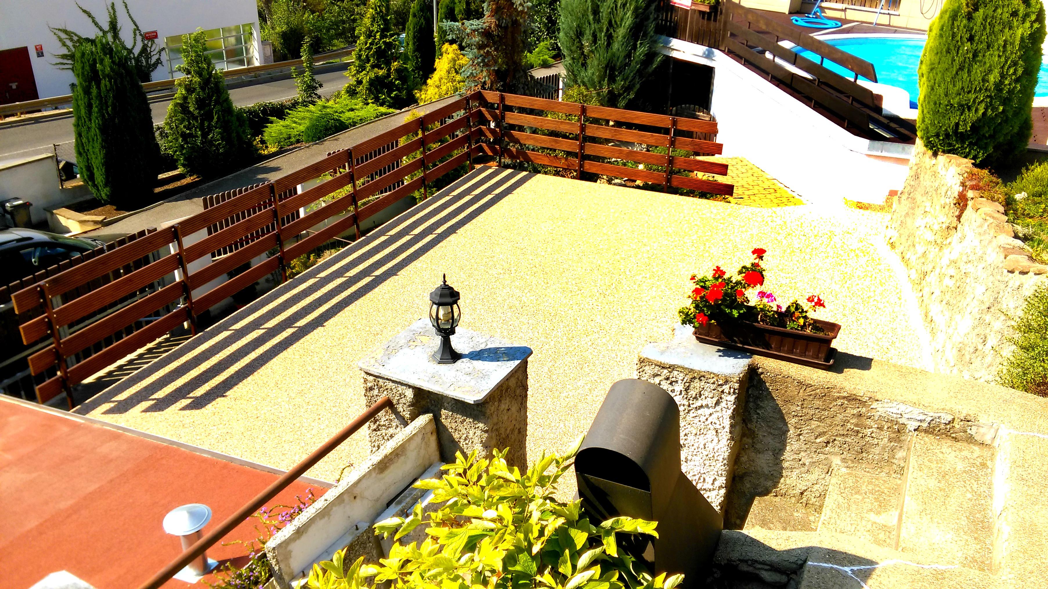 Kamenný koberec Prosecká