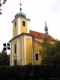kostel Vinoř