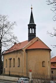 kostel Hostivař