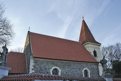 kostel Petrovice