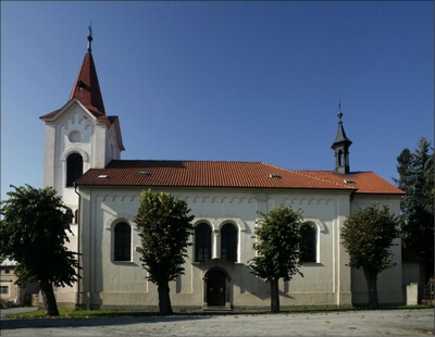 kostel Třebotov